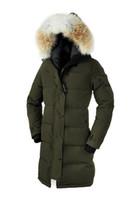 büyük parka ceketi kadın toptan satış-Shelburnes Büyük Kürk Üst Kopya Marka kadın Aşağı Parka Kış Ceket Arctic Parka Donanma Siyah Yeşil Kırmızı Açık Hoodies Ücretsiz Kargo DHL