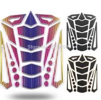 protetores de tanque de motocicleta venda por atacado-FASP Tanque Pad Protetor Adesivo Para Motocicleta Universal Fishbone 3D adesivo de Borracha etiqueta Do Tanque Da Motocicleta
