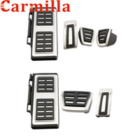Wholesale car parts accessories online - Car Foot Fuel Pedal Brake Clutch Pedals Cover for Volkswagen VW Golf GTI MK7 for Skoda Octavia A7 Parts Accessories