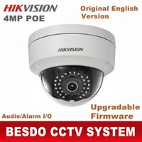 Wholesale Infrared Camera Webcam - Hikvision 4MP 4.0MP IP POE Outdoor dome camera waterproof web webcam cam DS-2CD2142FWD-IS replace DS-2CD2145F-IS DS-2CD3145F-IS
