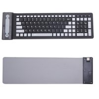 Wholesale Pc Keyboard Types - Foldable 2.4G Keyboard PC Computer Typing Device Water Resistant