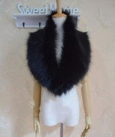Wholesale White Mink Collar - Women's Faux Fur Cape Scarf Winter Female False Fur Collar Imitation Mink Neck Warmer TXMT