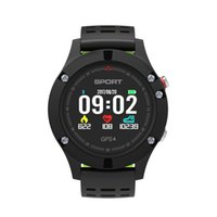 Wholesale thermometer waterproof for sale - Group buy F5 GPS Smartwatch Altimeter Barometer Thermometer Bluetooth Wearable device IP68 Waterproof with Retail Box