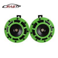 Sickspeed 2Pc Black Super Loud Compact Electric Blast Tone Horn for Car//Truck//SUV 12V P5 for Acura TSX