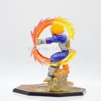 batalha super bola dragão venda por atacado-Novo Design de Varejo Atacado Anime Dragon Ball Z Super Saiyan Vegeta Battle State Final Flash Pvc Action Figure Collectible Modelo Toy 15 cm