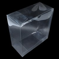 Wholesale Transparent Clear Box Packaging - 20pcs lot Transparent Plastic PVC Box Wedding Party Decoration Clear Plastic Box For Birthday Gift Package Display Boxes