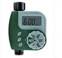 controlador de agua de riego al por mayor-Regulador de riego electrónico automático inteligente del jardín del contador de tiempo electrónico del agua de la órbita
