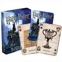 entretenimiento de cine al por mayor-1 unids Harry Potter jugando a las cartas Divertidas tarjetas de película para juego de mesa Hermosa tarjeta regalo creativo duradero Entretenimiento Juego Poker