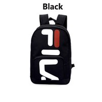 Wholesale medium backpacks for men - Newest F Brand Designer Backpack for Women Mens Designer Backpack with Double Zippers High-grade Material Bags With White Black Color