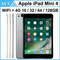 Wholesale tablet 16gb 2g resale online - Refurbished Original Apple iPad Mini WIFI G Cellular GB GB GB GB inch Retina Display ISO A8 Chipset Tablet PC DHL