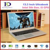 ordinateur intel core i5 achat en gros de-Meilleur prix 8G RAM + SSD 256G + Disque dur 500G 13.3 '' Ordinateur Netbook Core i5 5200U jusqu'à 2.7GHz HDMI WIFI Bluetooth ordinateur portable win10 F200