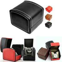 boîte de montre en cuir femmes achat en gros de-Boîtes de montres en cuir de luxe pour femmes Boîtes de montres pour hommes Boîtes de montres pour hommes