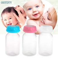 biberones de leche materna al por mayor-1 UNID Bebé 125 ML Leche Materna Biberón de Almacenamiento Bottl Cuello de Almacenamiento Ancho APR20