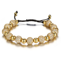 Wholesale chain crystal ball bracelet for sale - Group buy New Rhinestone Balls Chain Bracelets For Women Luxury Crystal Beads Bracelet Femme Jewelry Gifts Pulseras Mujer Moda