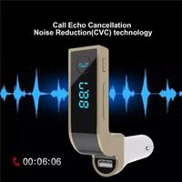 adaptador usb inalámbrico lg al por mayor-Transmisor de FM inalámbrico Kit de coche con adaptador de FM en el coche con cargador de coche USB para iPhone, Samsung, LG, HTC Android Smartphone DV88