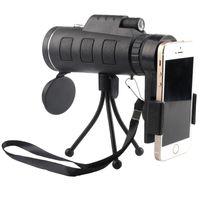 spot handy großhandel-40X60 HD-Monokularteleskop-Handy-Adapter inklusive Beste Jagd, Outdoor, Vogelbeobachtung, Spotting-Tierwelt, Wandern