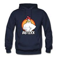 Wholesale Cock Big - Big Cock Winter Fashion Men's Clothing Hoodies Graphic Unisex Sweatshirt Men Long Sleeves Hoodies Cool Cotton Sweatshirt