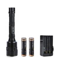 зарядное устройство trustfire t6 оптовых-Бесплатная доставка TrustFire 3T6 3800 люменов 3X XML T6 5режимный светодиодный фонарик, защищенный от взлома, с фонариком 18650
