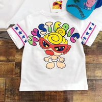 Wholesale Summer Children Cartoon Tees - Boys girls Tops Summer 2018 Brand Children T shirts Boys Clothes Kids Tee Shirt Fille 100% Cotton cartoon Print Baby Boy Clothing