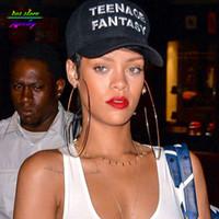 mischaufträge ohrringe großhandel-10 Größen! Sommer Stil Rihanna Promi Schmuck Gold Kreis Große Ohrringe Plus Große Creolen Übergroße Aussage