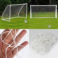 Wholesale soccer football net - Full Size Football Net for Soccer Goal Post Junior Sports Training 1.8m x 1.2m