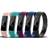 Wholesale Fitness For Life - ID115 ID115HR For Xiaomi Smart Wristbands for gym Sweatproof Band Sport Bracelet Step Counter Fitness Wristband Life Waterproof Pedometer