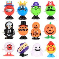 Wholesale toy eyeballs for sale - Group buy Halloween Funny Action Figures Eyeball pumpkin witch ghost Skull Model decoration toys Kids halloween Decoration C5148