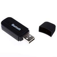 ingrosso dongle del bluetooth per il ridurre in pani-Mini 3.5mm Car Kit USB Audio Music Receiver AUX adattatore wireless Bluetooth Dongle universale per telefono Tablet PC Altoparlante portatile