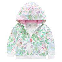 Wholesale newborn spring jackets online - Baby Outerwear Coats Cute Infant Coat Baby Boys spring Autumn Coat Newborn Girls Jacket Cotton Clothes