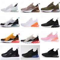 zapatos de gran tamaño al por mayor-16 colores Super Star 2019 NIKE AIR MAX AIR 27c Vapormax 270 Running shoes Sports sneakersventa caliente hombres mujeres niños y niñas zapatos casuales tamaño EUR36-45
