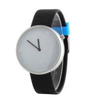 Wholesale bright digital watches for sale - Group buy New quarzt watches Bright Color Belt No digital No Second Men s Quartz Business Casual Watch Gift montre homme de luxe A8