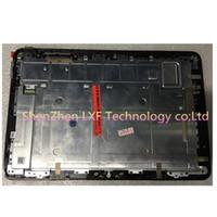 remplacement du numériseur asus achat en gros de-Noir Full LCD DIsplay + Écran Tactile Digitizer + Cadre Lunette de Remplacement Pour ASUS Transformer Livre T101HA T101H