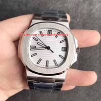 Wholesale Mps Watches - 4 Color Top Quality MP Factory 40mm Nautilus 5711 1A-001 Classic Swiss CAL.9015 324 S C Movement Mechanical Automatic Mens Watch Watches