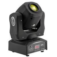 dj gobo venda por atacado-60 W Led Spot Moving Head Light 8 Gobo Arco-Íris Disco luz para DJ Festa de Casamento Da Igreja Ao Vivo Concerto