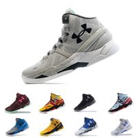 Wholesale mens under - under armou Curry 2 mens basketball shoes BHM Final Athletic Sports Sneakers Cushion trainers Cushion On Foot outdoor designer Store-wide Di