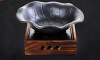 ingrosso pentole in ghisa-Stufa mini alluminio portatile per Coppia singola con pentola in ghisa Forno tetragonale 046