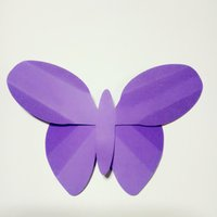 Wholesale wedding paper butterflies - 2PCS Craft Supplies Creative Paper Butterflies For Wedding Backdrop Baby Shower Baby Nursery Decorations Home Deco