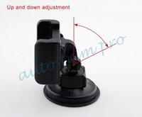 verstellbare ständer großhandel-Schwarz Einstellbare Phone Bracket Halter Stand Support Mount Cradle Fahrzeug Car Interior Zubehör