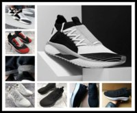 Wholesale nice 45 - hot sell Epacket 2018 running shoes for men nice design sneakers ignite breathable sport shoes men adults full black sneakers EU 39-45