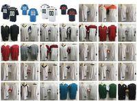personalisierte matches großhandel-Neue American Football-Trikots Alle 32 Teams Stitched Mens Womens Custom von Frauen Jeder Name Beliebige Anzahl Personalisierte S-4XL-Mix-Reihenfolge