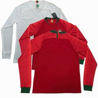 jerseys portugal al por mayor-¡Nuevo! 2018 2019 Portugal manga larga ANDRE SILVA QUARESMA camisetas casa de fútbol de fútbol Jerseys de fútbol S-2XL