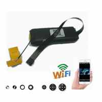 yapı modülü toptan satış-HD Kamera Dahili Pil WIFI Modülü Kamera CCTV H.264 Video Kayıt Mini Kamera Ev Güvenlik HD 1080 P Mini DV PC kamerası