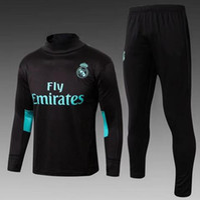Wholesale sweat jogging - Real Madrid tracksuit 2018 Best quality survetement S_3XL training suit sweat top chandal soccer suit jogging chandal football with pant