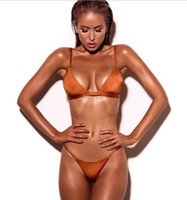 serin bikini toptan satış-Lady serin Sunshine plaj bikini seksi günaha yüksek kalite mayo gösterisi iyi şekil büyük göğüs uzun bacaklar