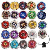 Wholesale 24 spinners - 24 Styles Beyblade Booster Alter Spinning Gyro Launcher fidget spinner Starter String Booster Battling Beyblades Novelty Toy GGA242 150pcs