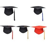 ingrosso cappelli del medico-Fantastico partito di laurea della scuola Nappe Cap Sparviere Università Bachelors Master Doctor Hat accademico