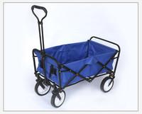 ingrosso ruote calde in vendita-Carrello pieghevole del vagone di 4 ruote di vendita calda 2018 con il rivestimento pieghevole pieghevole del rimorchio pieghevole del carrello di 77 * 50 * 30cm del rivestimento