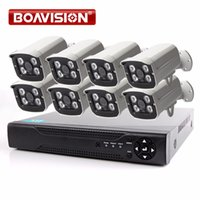 Wholesale Indoor Outdoor Surveillance System - HD 1080P  720P 8Ch CCTV System Surveillance Kit 8 Channel AHD DVR KIT With 8x2.0MP IR Bullet Outdoor Indoor Security AHD Camera