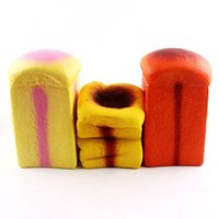 Wholesale photo simulation - Simulation Bread Squishies Toy Creative New Squishy Reduced Pressure Toys Photography Take Photo Prop Multi Color 17sq CR