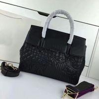 Wholesale Ladies Dress Embroidery - New Fashion Women Bag Luxury Medusa Handbags Designer Brand Top Handles Shoulder Bag Embroidery Totes Genuine Leather 1815